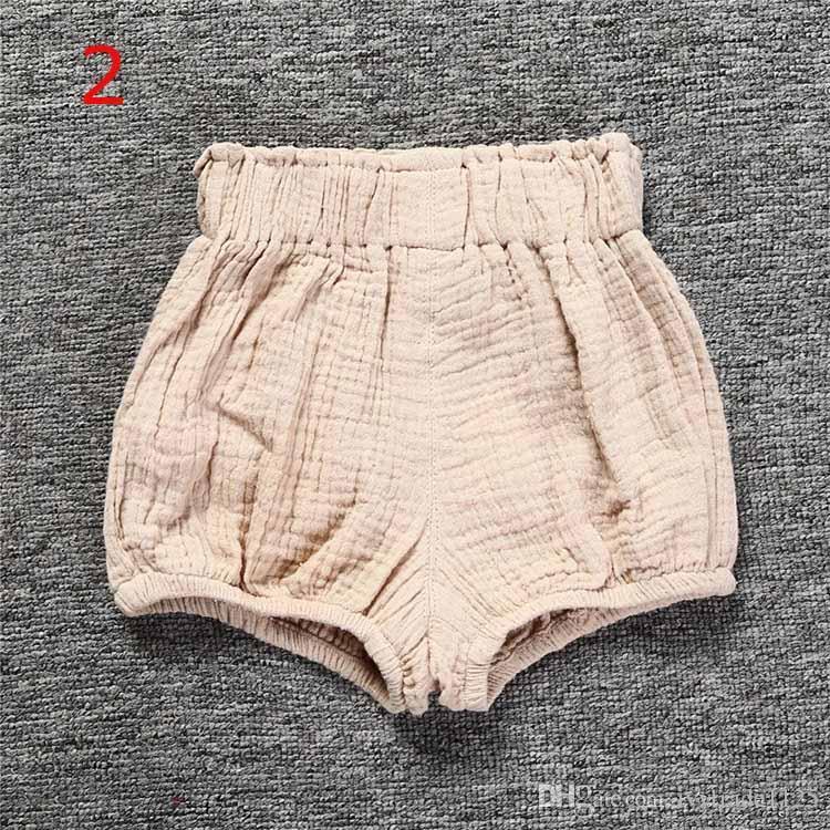 12 stilleri Ins Yeni Bebek Şort Toddle erkek kız ins kısa yaz bebek çocuk gevşek Yenidoğan comfortale Bezi Butik Külot Giysi