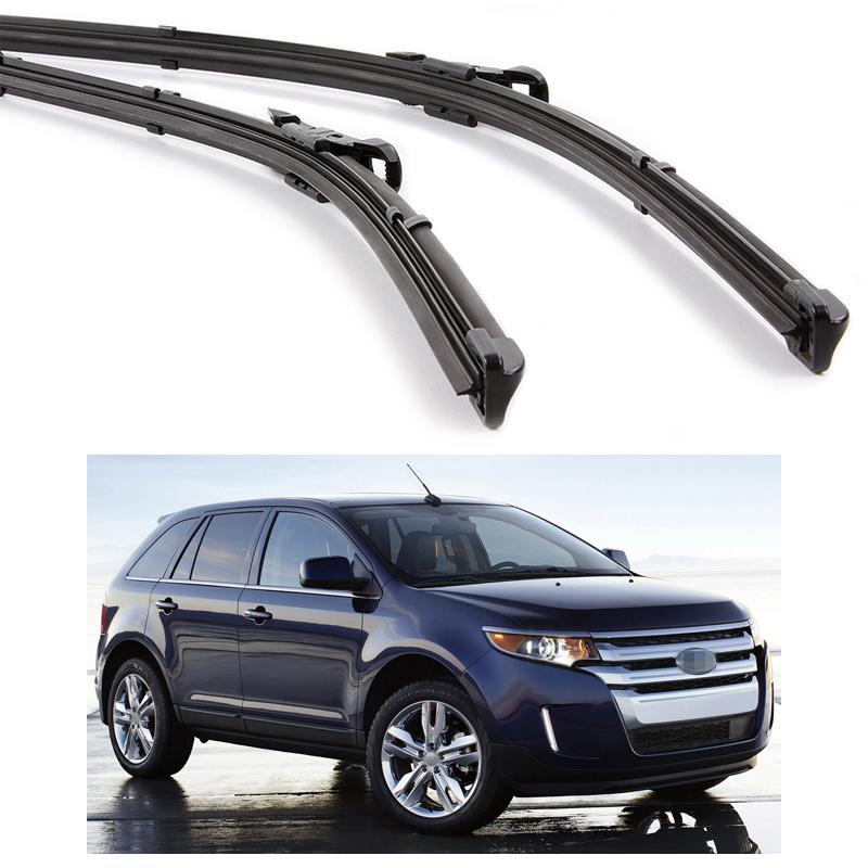 New Car Front Windshield Wiper Blade Bracketless Fit For Ford Edge     Mud Flaps Mudguard Ford Edge
