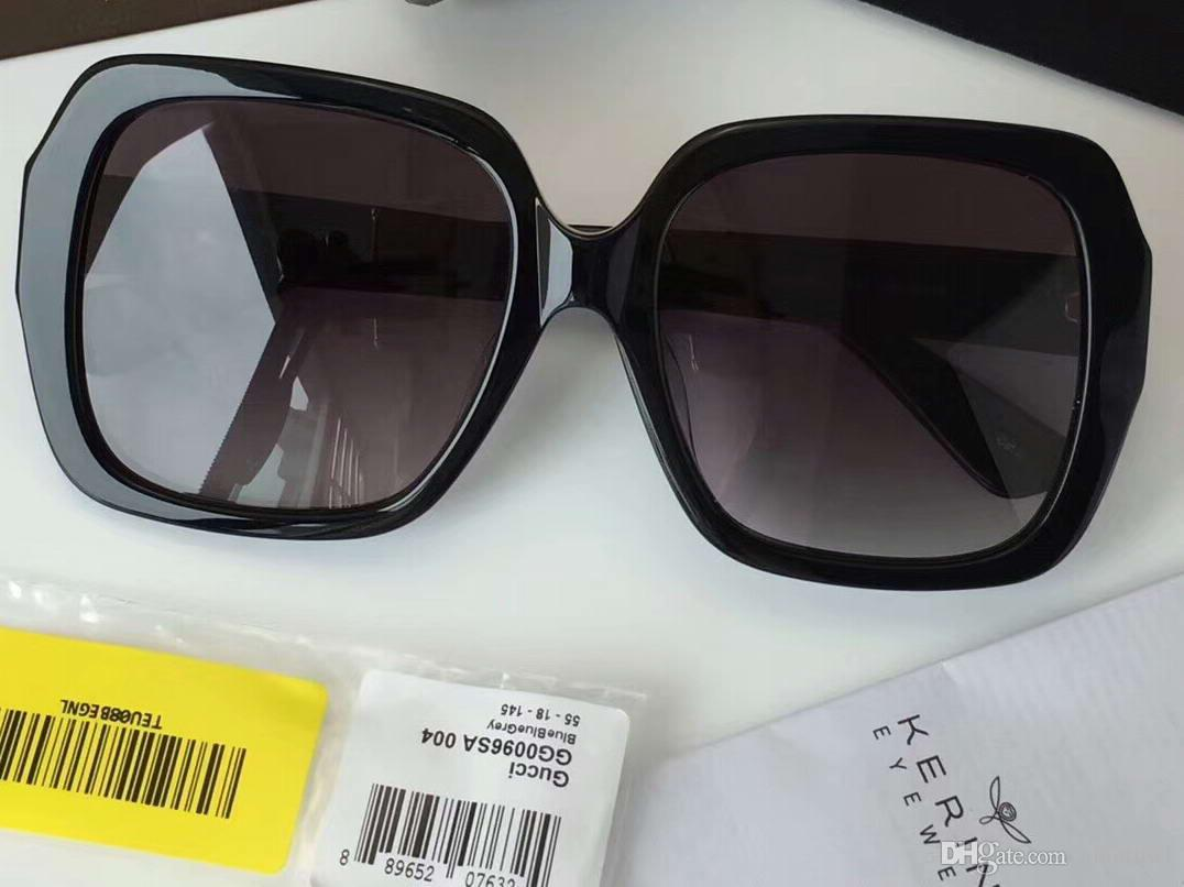 c482852c5 Women's Sensual Romantic 0096 0096/S Black/Red Sunglasses 55mm Sonnenbrille  Luxury Outdoor Eyewear Driving Glasses Fashion New in box