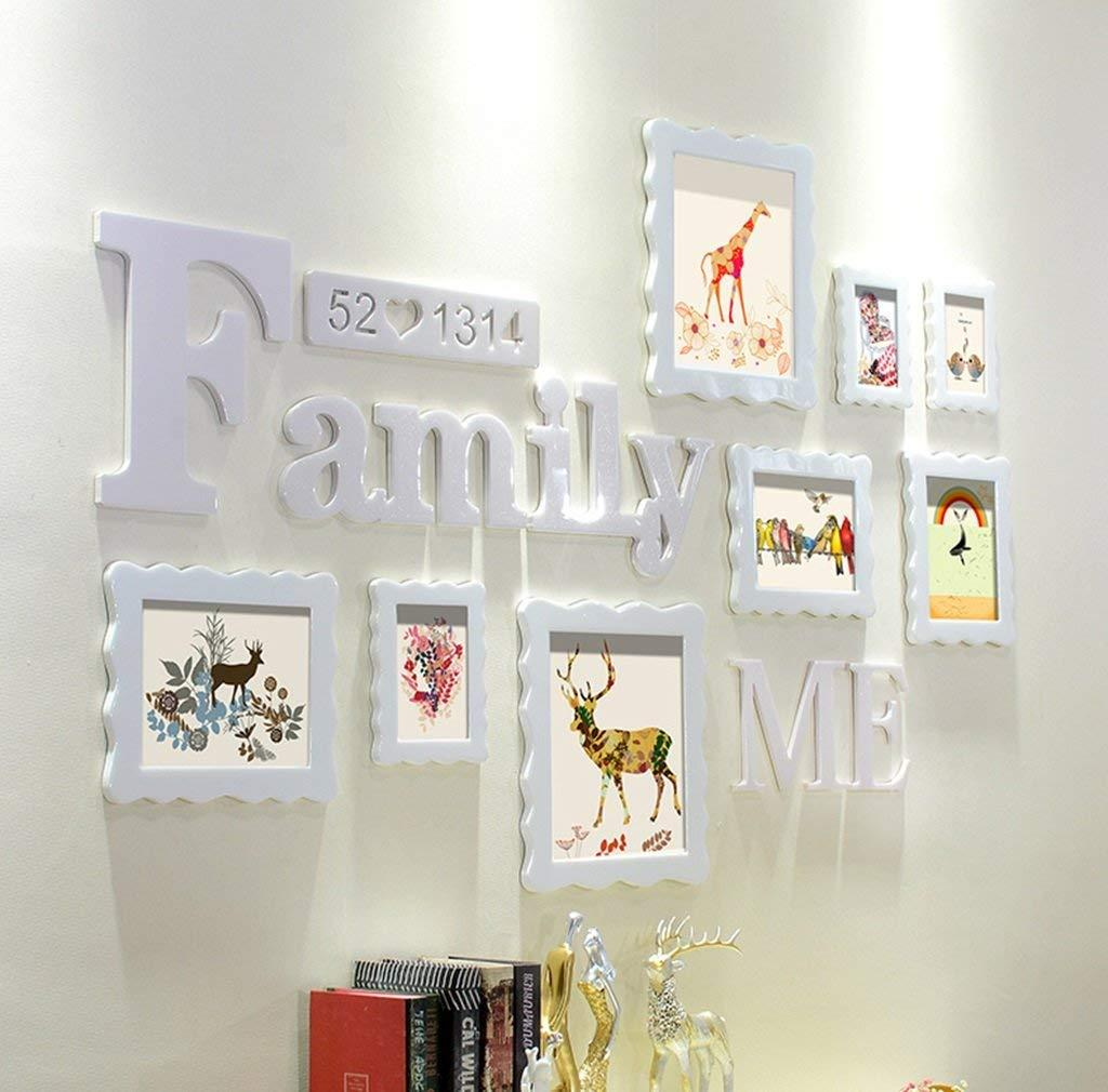 2018 Wall Gallery Template Photo Wall Hanging Photo Wall Frame Wood