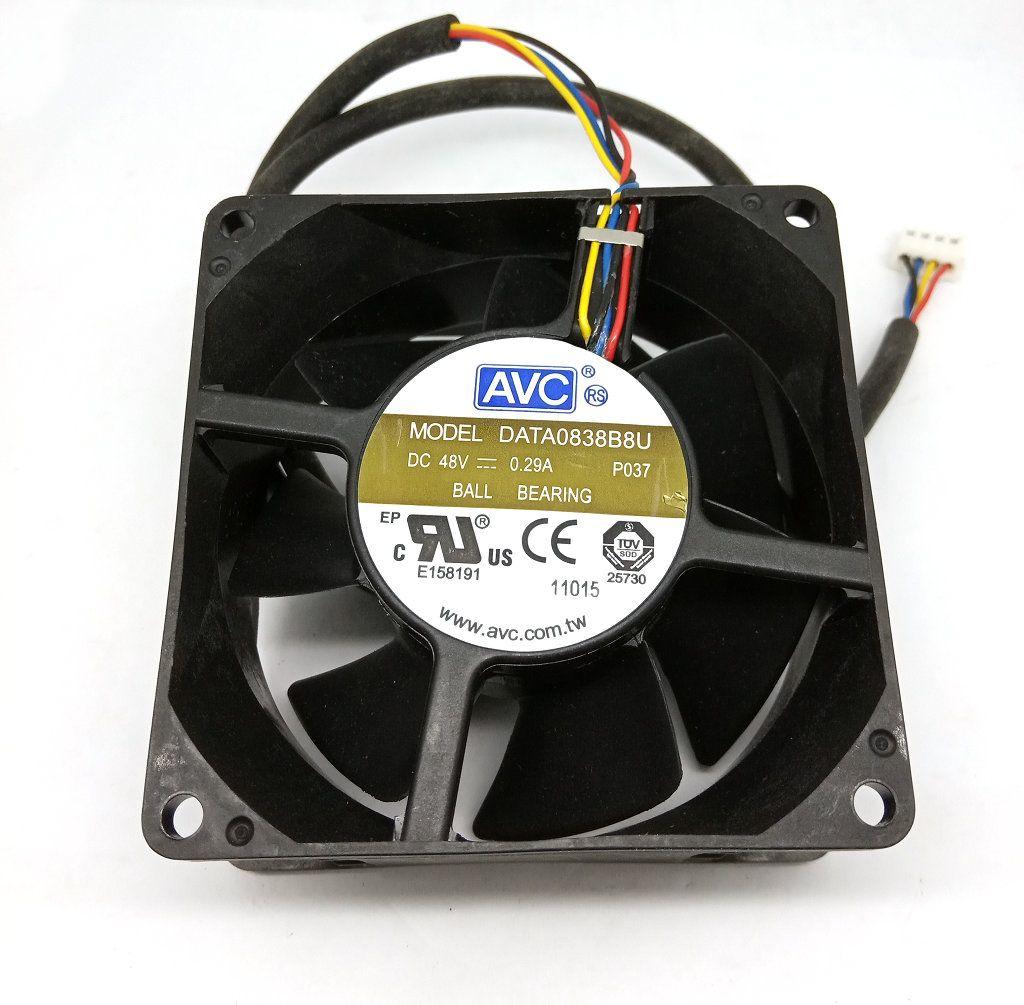 New Original AVC 80*80*38MM 48V 0 29A DATA0838B8U 4Lines Inverter cooling  fan