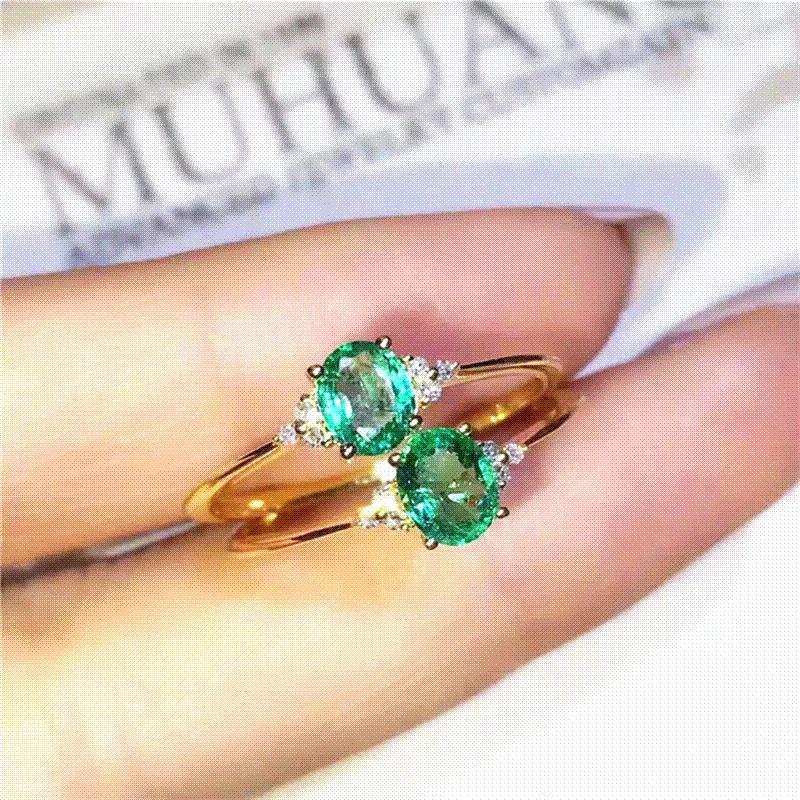 wedding real green official with original dark natural emerald pin certification from rings for burma material