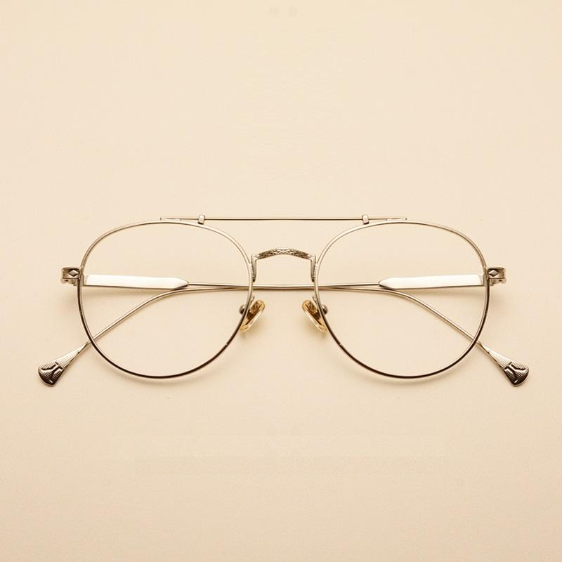 fa58a9c0c7 2019 Vazrobe Vintage Round Glasses Men Women Eyeglasses Frames For ...