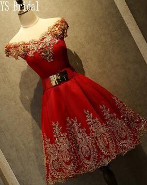 58b9aa5dc01ff Red Short Homecoming Dresses 8th Grade Prom Dresses Junior High Cute  Graduation Formal Dresses mezuniyet elbiseleri