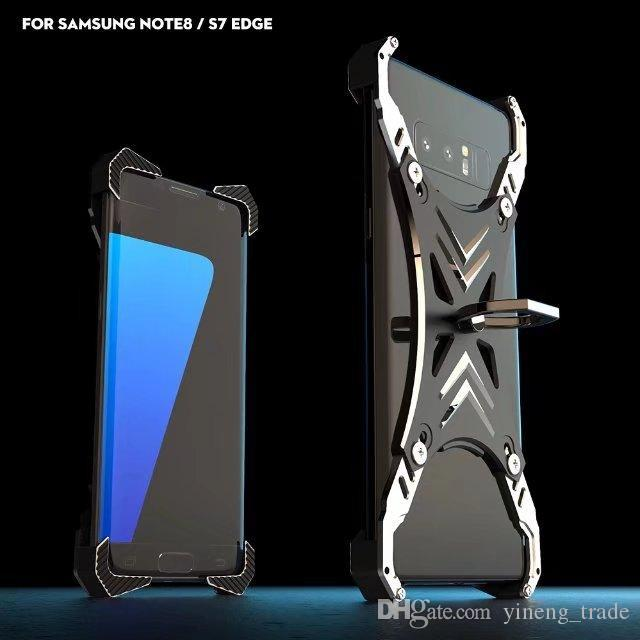 R Just Luxury Universal For Samsung S8 Case Frame Aluminum Back Cover For  Samsung Galaxy S8 Plus S8 S8+ Phone Cases With Ring Cheap Phone Cases Cool  Phone ... 9999705f0d7f
