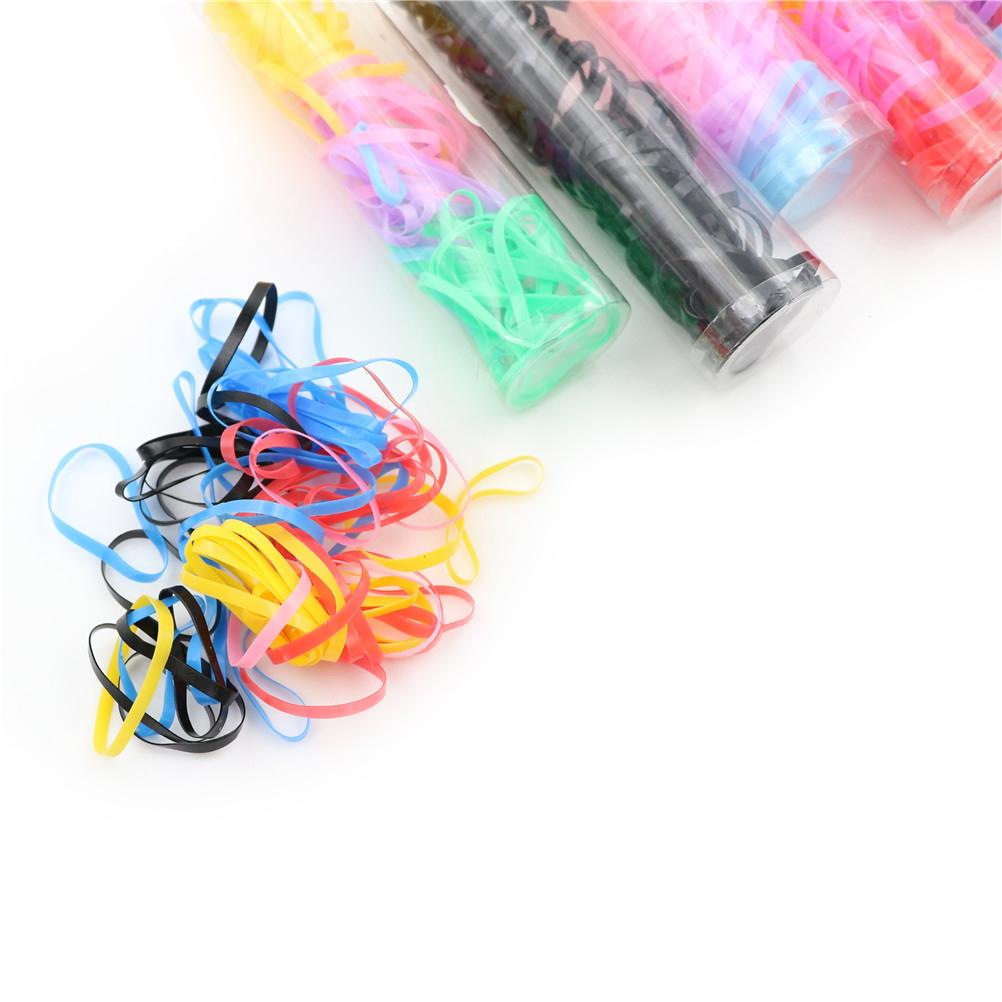 Grils Rubber Band Stretch Elastic Hair Tie Ring Ponytail Holder Hairband  Wholesale Hair Style Maker Wavy Hair Maker From Gorgeous08 69ee1a8547d