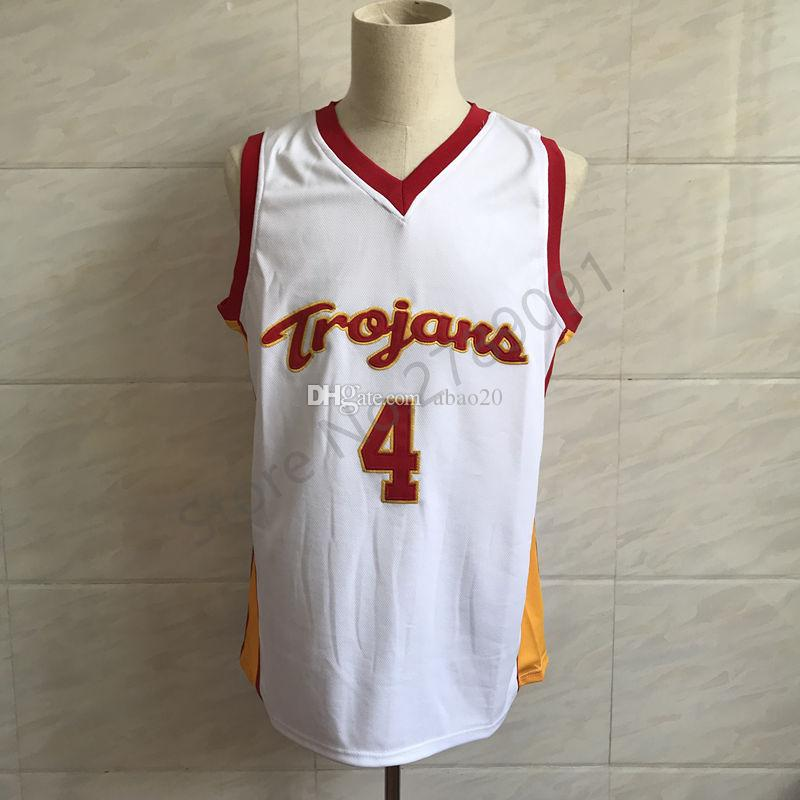 new products ca1c1 30071 #4 Chimezie Metu USC Trojans College Classic Basketball Jersey Embroidery  Stitched Customize any number and name Jerseys