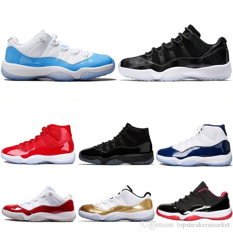 watch ce2b0 649fd Großhandel 2018 Designer Trainer Basketball Schuhe 11 Unc Barons Kappe Und  Gewand Concord 45 Space Jam Männer Frauen Sport Turnschuhe Größe 5.5 13 Von  ...