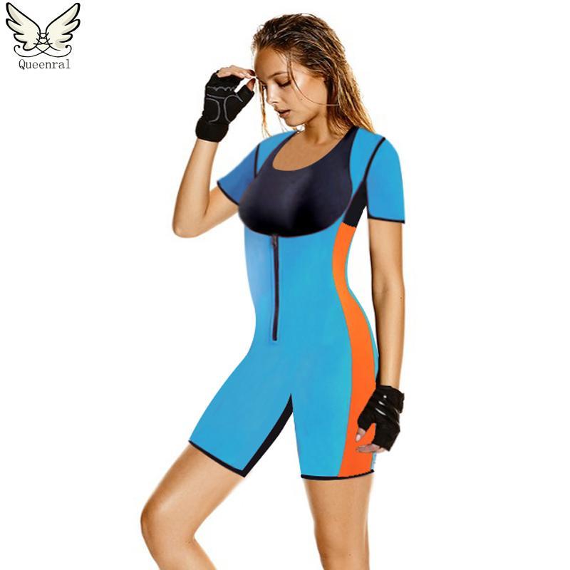da6aa2ca82 Neoprene Shaper Women Hot Shaper Underwear Modeling Strap Sweating ...