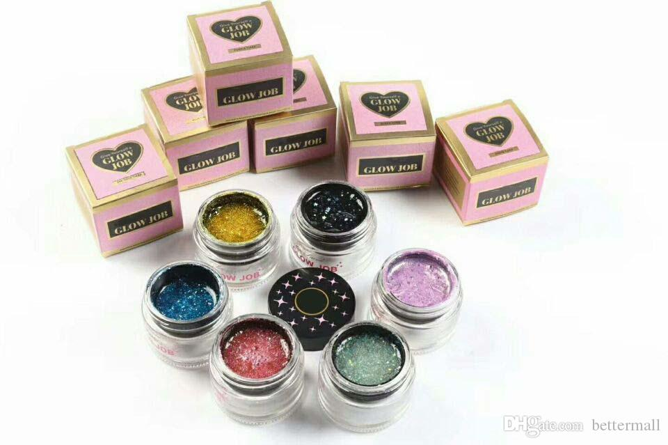 Brand New Face Masks Cosmetics Give Yourself a Glow Job glitter face mask bling bling Tear away masks & Peels DHL Free