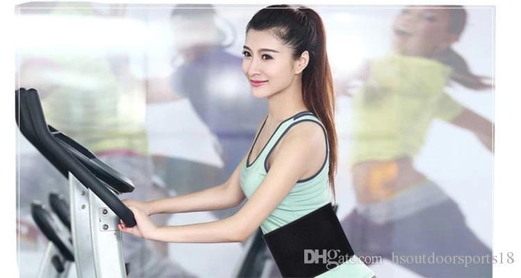 Fabrik direkt Verkauf Neopren Schweiß Taille Abnehmen Trimmer Support Gürtel für Weight Loss, Yoga, Fitness, Laufen.