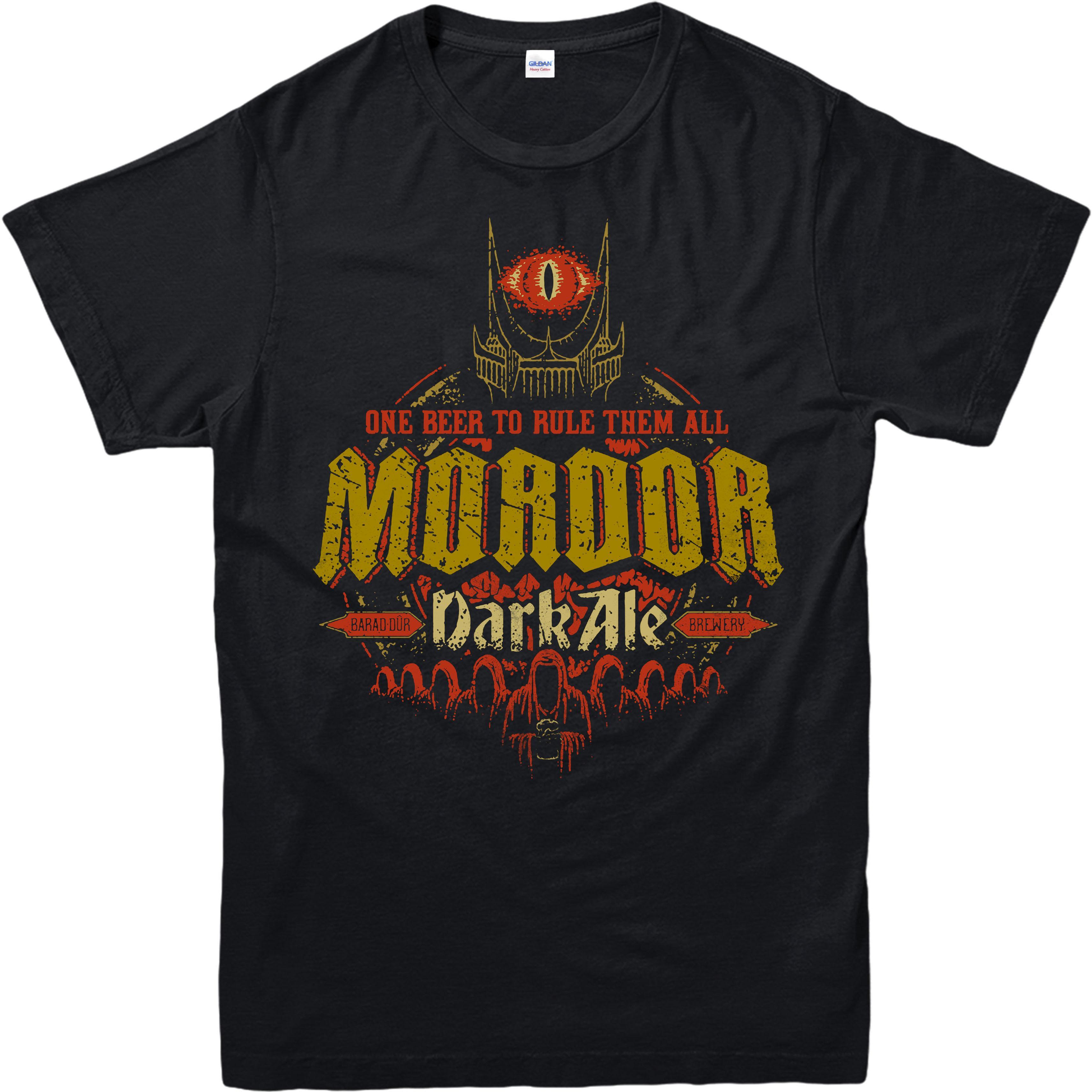 3b70b0f489d266 Großhandel Herr Der Ringe T Shirt, Mordor Dark Ale Parodie, Erwachsene Und  Kinder Größen Baumwolle Männer T Shirts Klassische Top T Grundlegende  Modelle Von ...