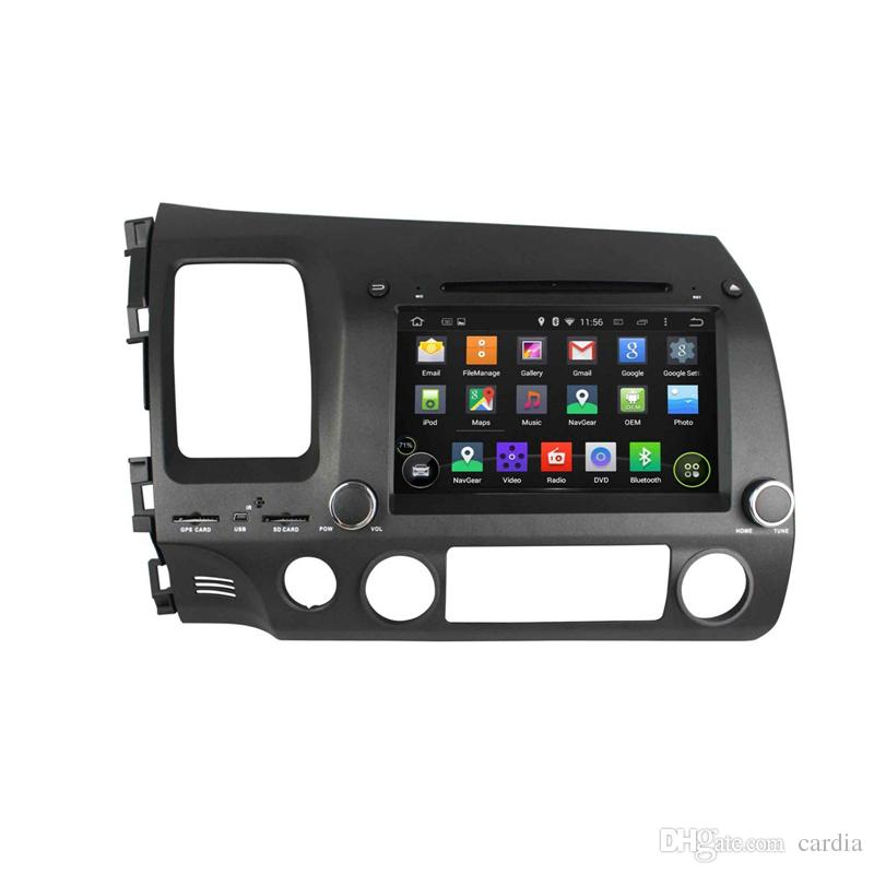 8inch 2GB RAM Octa-core Andriod 6.0 Car DVD player for Honda CIVIC 2006-201 with GPS,Steering Wheel Control,Bluetooth,Radio