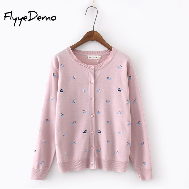 c1900ba258 2019 Oversized Knitted Cardigan Casual O Neck Long Sleeve Pink Black Blue  Cardigan Jumper 2018 Autumn Winter Women Sweater Plus Size From Glorying