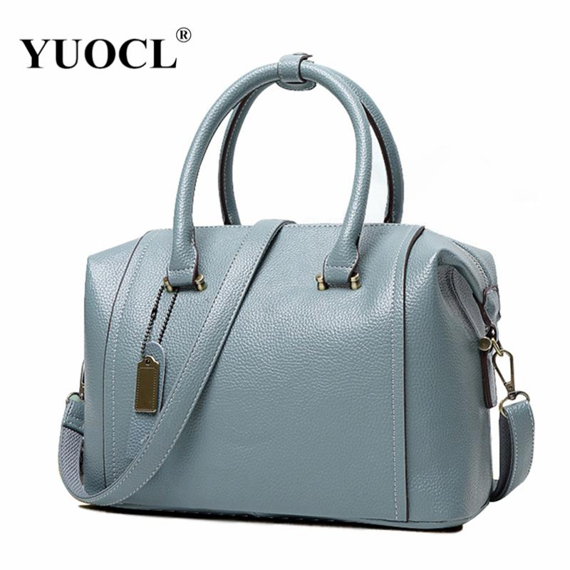 bb9345ad6985 YUOCL Shoulder Crossbody Tote Bags For Women Leather Luxury Handbags Women  Messenger Bags Designer Famous Brands 2018 Sac A Main Leather Backpack Purse  ...