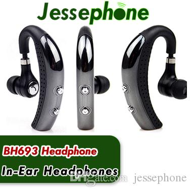Banpa BH693 Wireless Bluetooth 4.0 Headset Ear Hook Headphone Stereo Earphones Earbuds earpieces with Mic For LG iphone 6 7 Samsung S6 s7