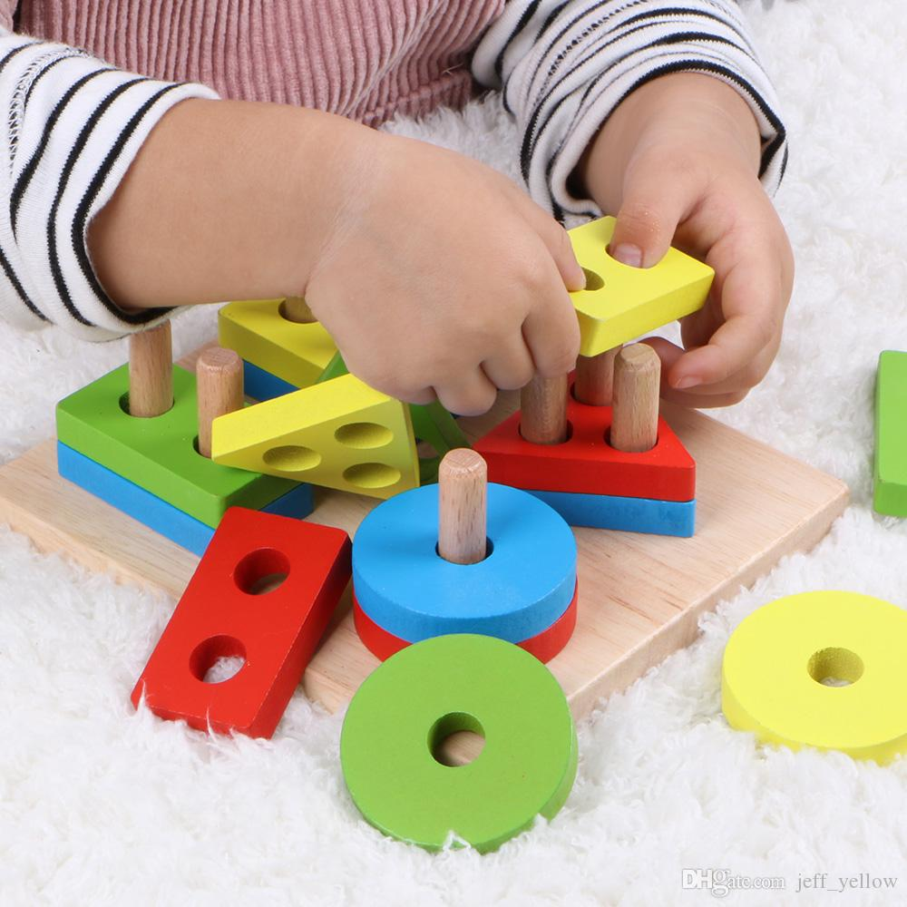2020 Montessori Early Learning Educational Toys Boy Baby 1 ...