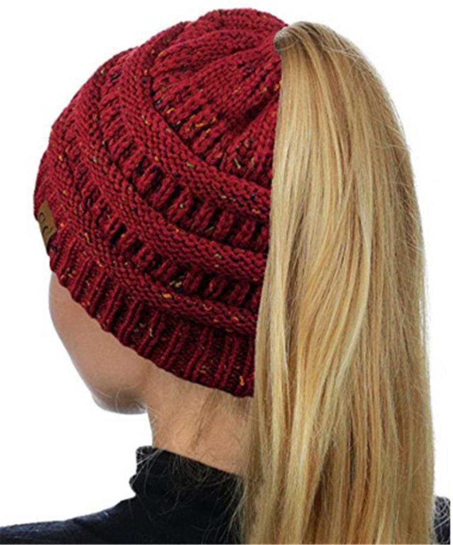 c68b61e6093 Winter Hats For Men Women Baggy Warm Crochet Winter Wool Knit Ski Beanie  Skull Slouchy Caps Hat Hip Hop Bonnet Femme Gorras Snapback Hats Cowboy Hats  From ...
