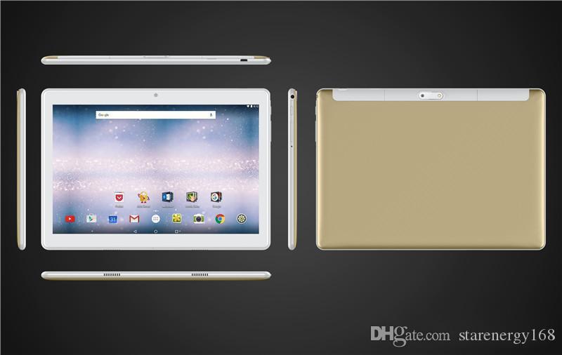 168 Hochwertige 10-Zoll MTK6580 2.5D glasss IPS kapazitiven Touchscreen Dual-SIM 3G GPS-Tablette-PC 10