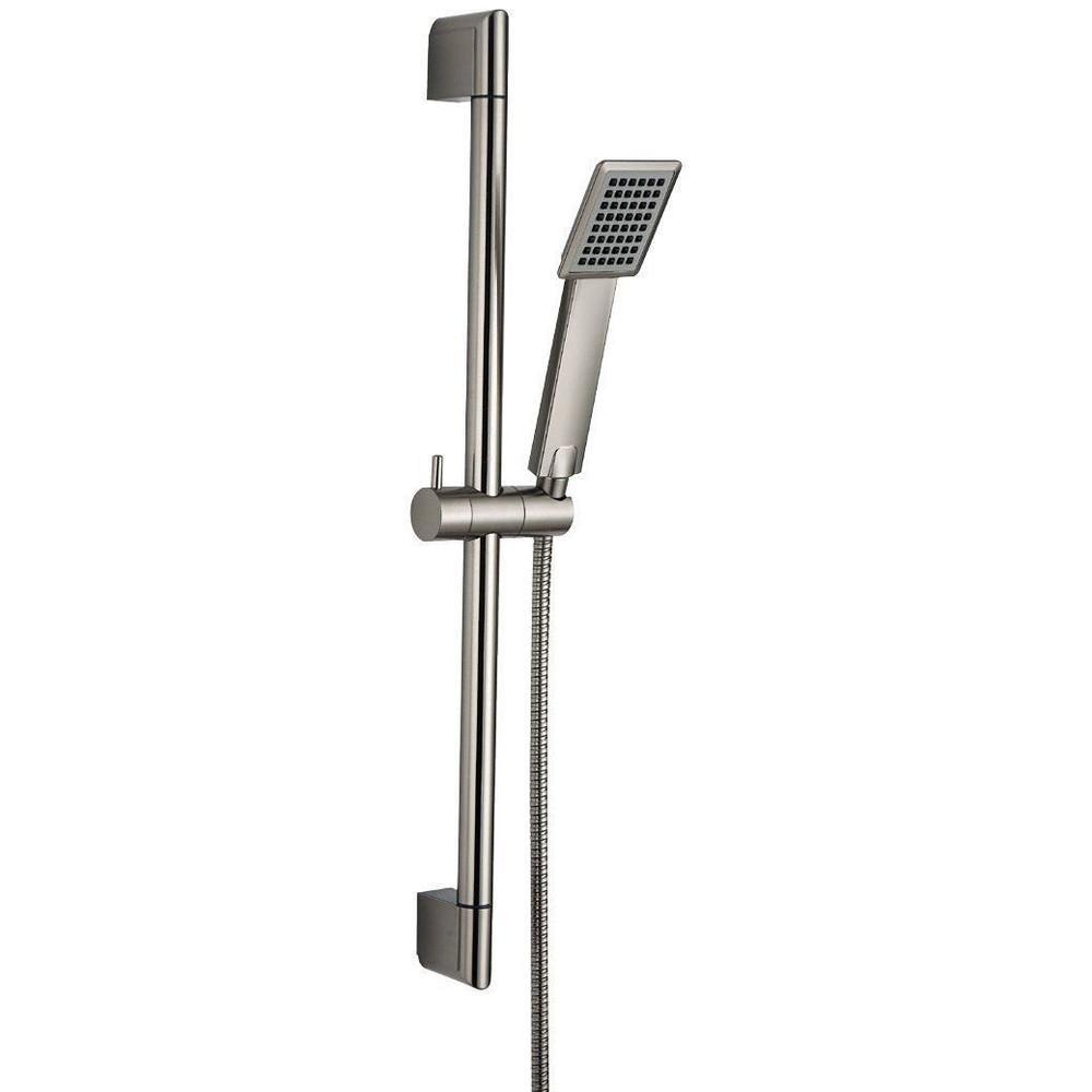 2018 Stainless Steel & Shower Riser Rail Sliding Bar & Handheld ...