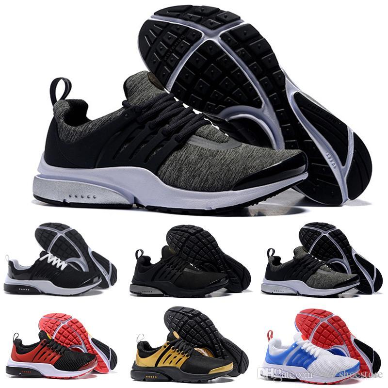 e19dcf84 ... clearance compre 2017 nike air presto top br qs breathe negro blanco  zapatos de baloncesto para