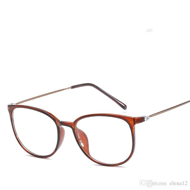 0f7359d90 Compre 7 Cores De Moda Armações De Óculos Mulheres Senhoras Óculos De Sol  Quadros Decorativos Óculos De Leitura Óculos De Armação 330018 De Elena12,  ...