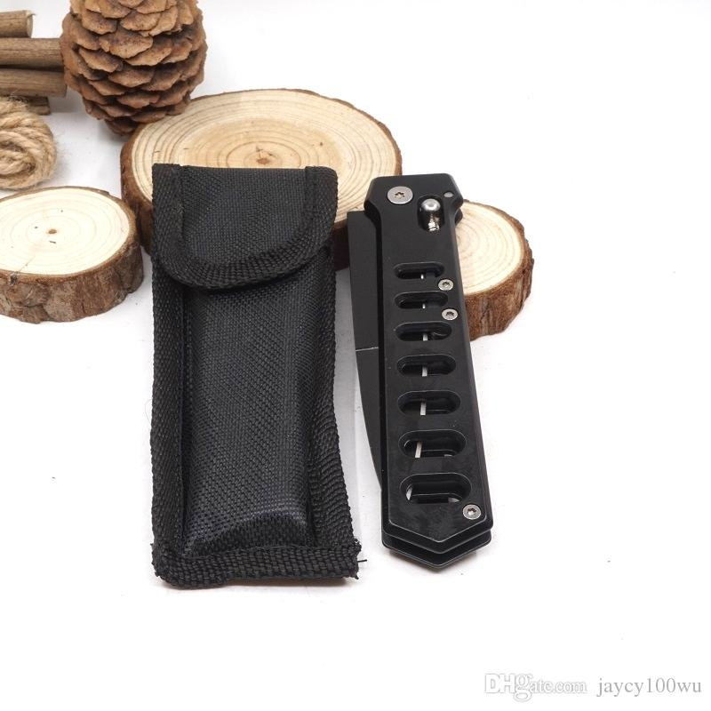 Steel Ball knife Folding Pocket Survival Knife Aviation Aluminum Handle Hunting Rescue Tactical Knives Utility Camping Outdoor EDC Tools