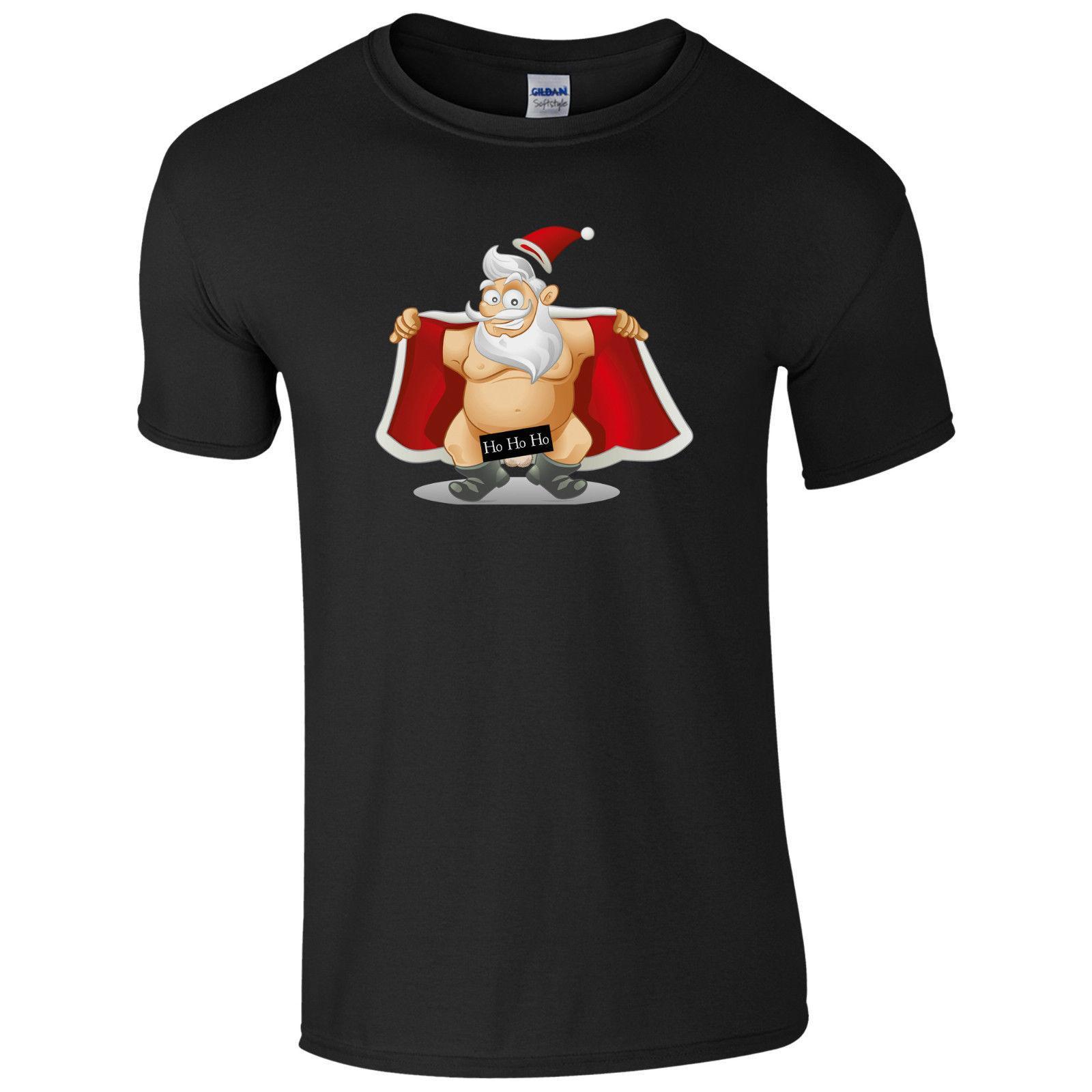 886e688f Naughty Santa Flashing Ho Ho Ho T Shirt Funny Rude Christmas Gift Joke Men  Top T Shirt Designs Cool Shirts From Mochostore, $24.2  DHgate.Com