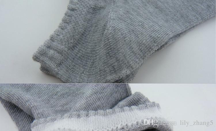 Venta al por mayor-20 pares / lote de apertura corta calcetines deportivos de color puro calcetín casual para hombres es envío gratis