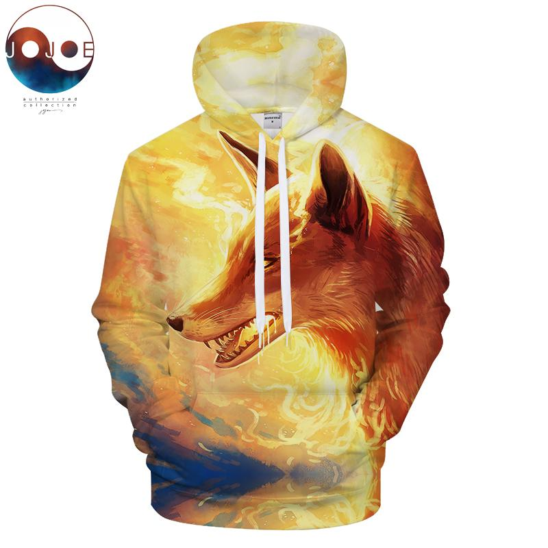 Streetwear From JojoesArt Fire Fox Fox Men Casual Sweatshirt 3D Com Tracksuit Tt2015 Hoodies 2019 Hoody By Printed DHgate 38 32 Unisex Drop Ship qp6w5T