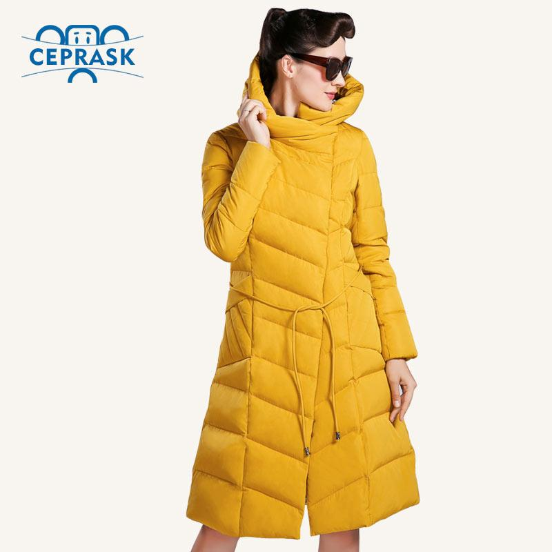 01b574c3460 2018 Wholesale Ceprask 2016 High Quality Winter Jacket Women Plus Size Long  Fashionable Women S Winter Coat Hooded Warm Down Jacket Parka From  Duixinju