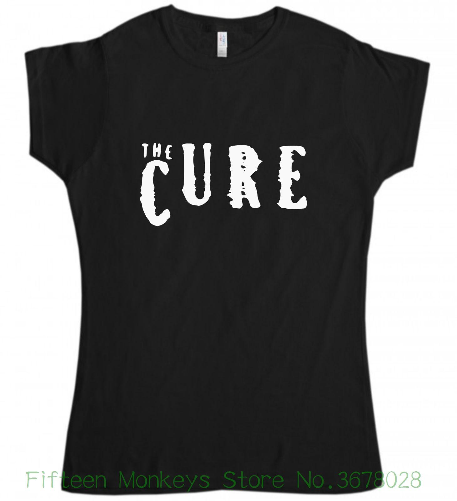 Women s Tee The Cure T-shirt New Black Ladies Womens Girls T Shirt S Xl  Rock Top Cool Ladies Tees Online with  28.54 Piece on Fifteenmonkeysstore s  Store ... 8fdbcd4aae