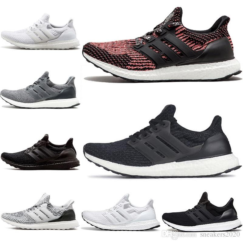 cfd1d583d Discount Ultra Boost 3.0 4.0 Running Shoes Ultraboost Triple Black ...
