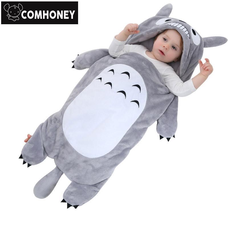 Compre Saco De Dormir De Invierno Bebé Totoro Sobres Para Cochecito ...