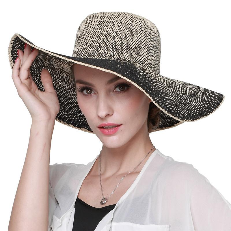 New Arrival Summer Hat Wide Brim Lady Popular Visor Straw Sun Cap Adult  Outside Sunscreen Beach Cap Female Travel B 7311 Sun Hat Straw Hats From  Haydena d2d352d2228