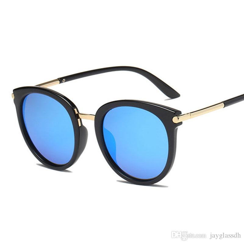a7fd0e37040 Polarized Sunglasses Women Hot Selling New Arrival Round Eyeglasses Brand  Desiger Fashion Driving Sun Glasses Vinatge Female UV400 Sunglasses Brands  Best ...