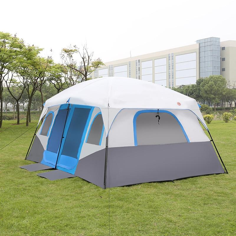 Large Family Camping Tents Waterproof Cabin Outdoor Tent For 8 10 12 Person  Event Marquee Tents No Kill Cat Shelters Shelter For Women From Annuum bac3c2f5ba