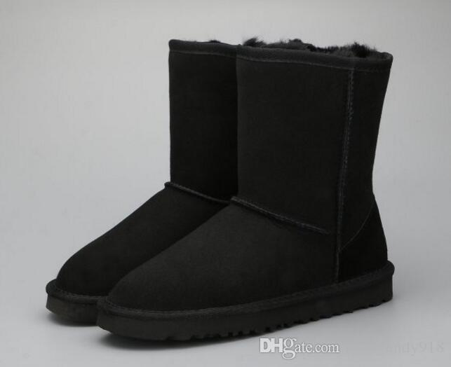 0558edb134d1 NEW 2018 Australia Brand Women Boots Snow Boots Wool Women Shoe Cute Winter  Snow Boots  825 Men Boots Red Boots From Luckyandy918