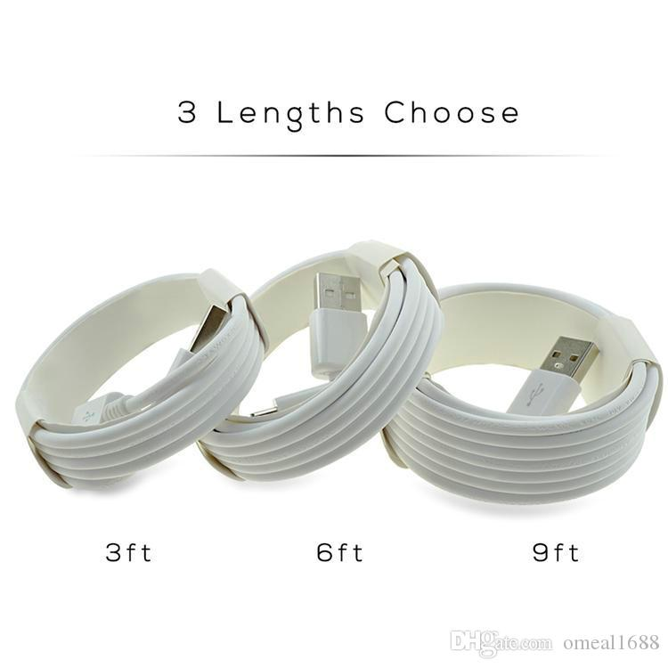 High speed Micro USB Charger Cable Type C High Quality 1M 3Ft 2M 6FT 3M 10FT Sync Data Cable for Samsung S10 S9 S8 Note 9 Any Smart Phone