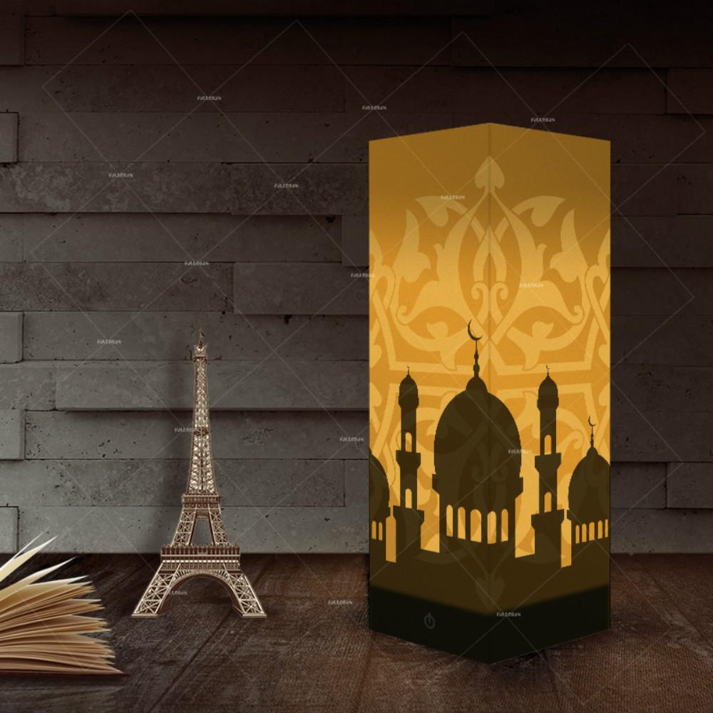 2019 Shadow Lights Indian Taj Mahal Picture Warm White Lighting Home Decoration Lamps Table LED Light As Gift For Kids Wholesale Dropshipping From