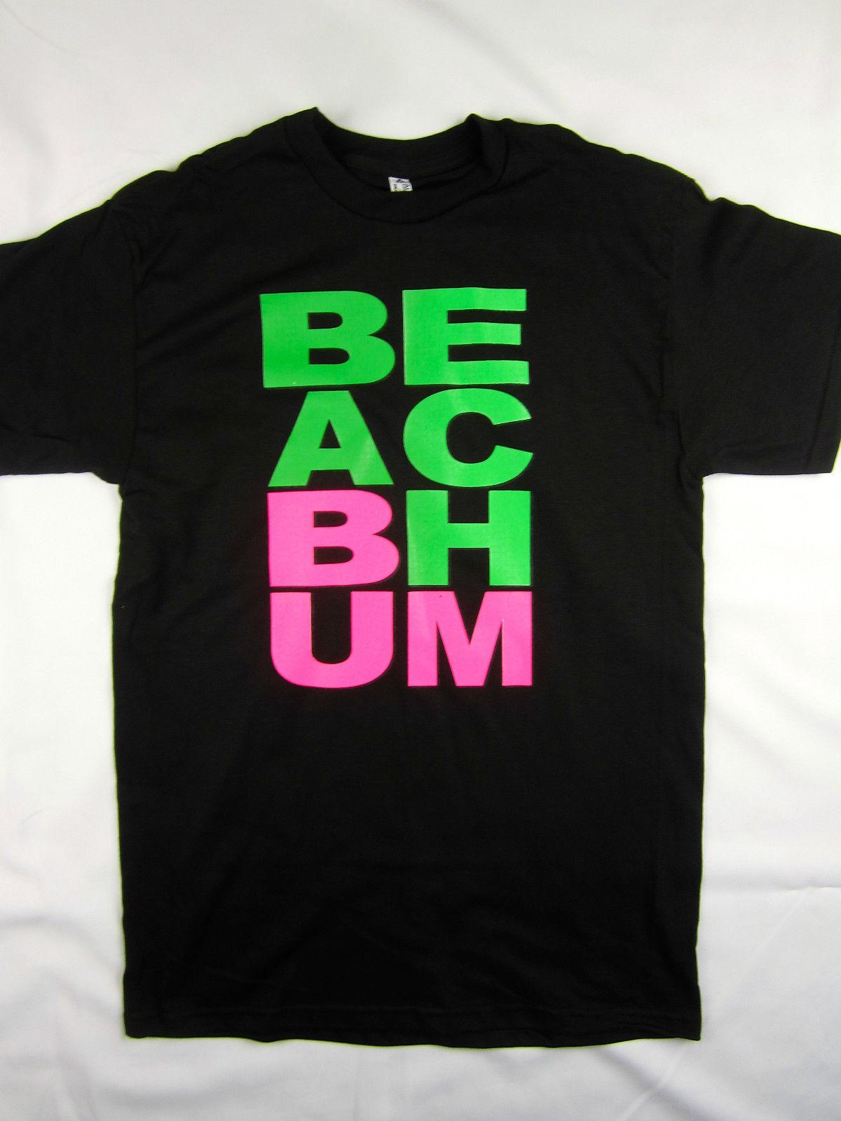 c7c250f5c Beach Bum casual style party tee shirt men's black choose A size 2018 New  Brand Mens T Shirt Cotton Short Sleeve print New High