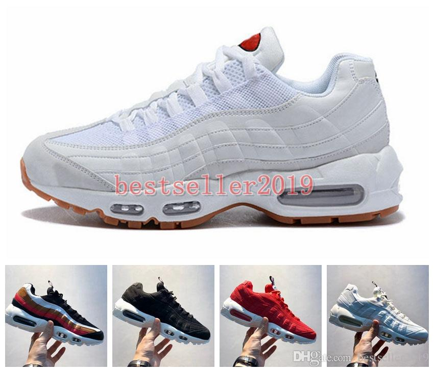 super popular 80d5b 8dcfa 2018 Chaussures Running Shoes 95 TT for Japan Blue White Red Women Mens 95s  Ultra OG Racer Trainers Brand Designers Sneakers Shoe Zapatos