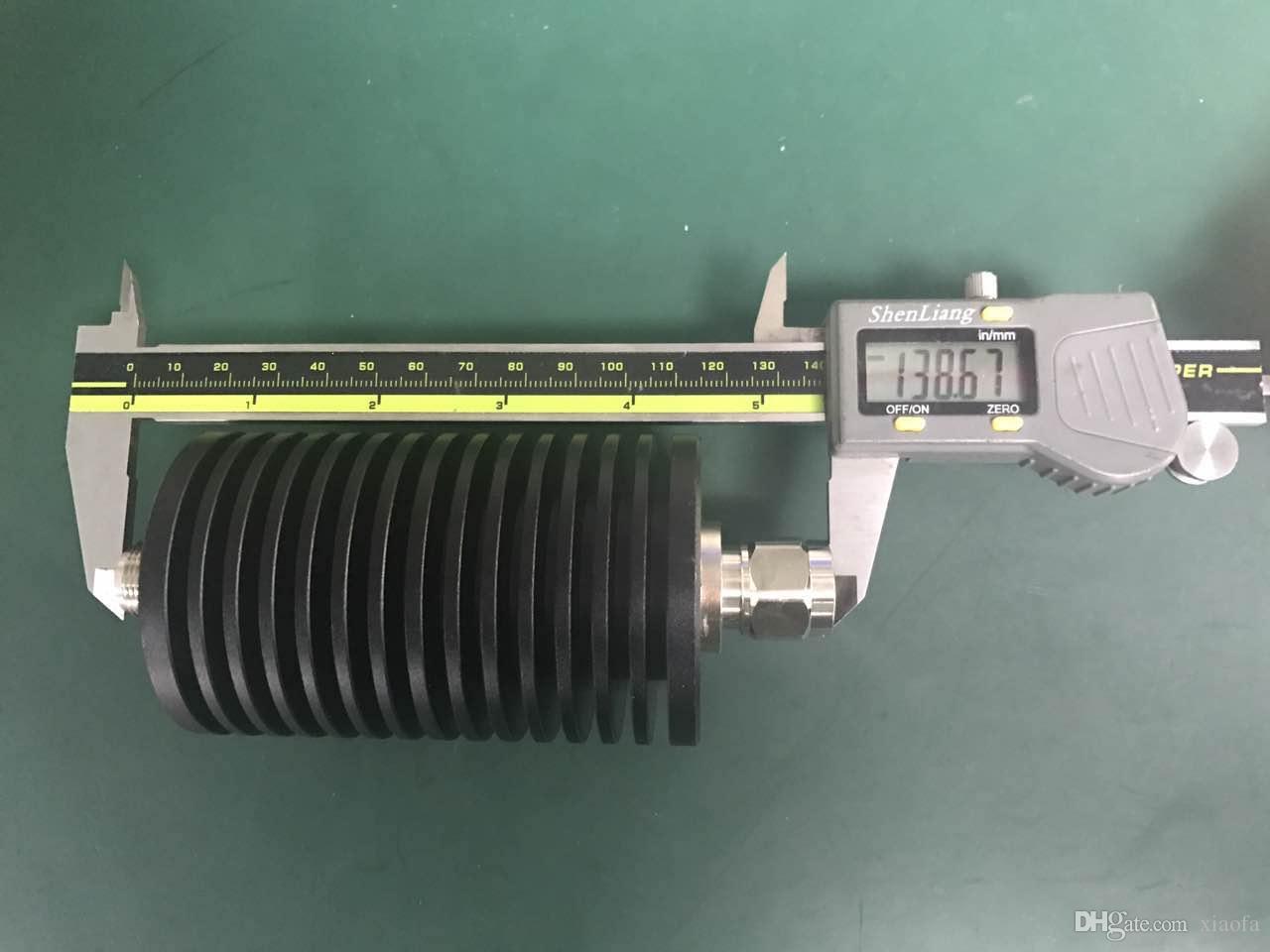 Atenuador fijo coaxial de alta potencia N tipo 100W, atenuador rf 20dB. 0-3ghz.