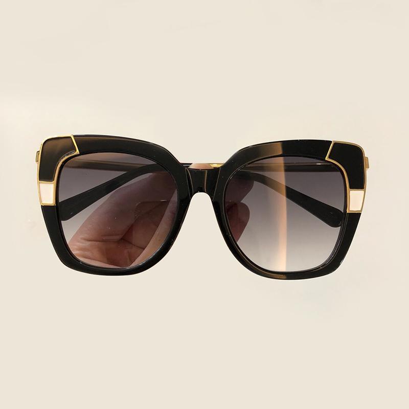 458f7acc28c25 Compre Marca De Óculos De Sol Das Mulheres De Alta Qualidade Oculos De Sol  Feminino Feminino Moda Vintage Shades Quadrado Retro Óculos De Sol Com  Caixa De ...