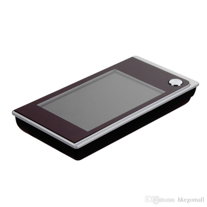 Schermo a colori LCD da 3,5 pollici Campanello digitale Schermo da 120 gradi Peephole Viewer Porta campanello gli occhi Mini Telecamera a colori esterni TH4