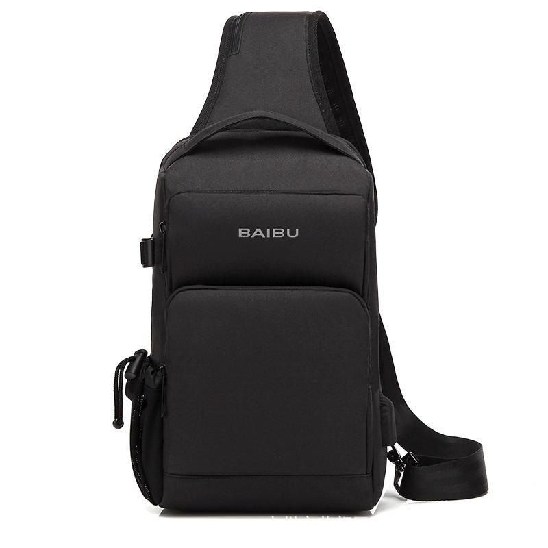 9e477a5c0 USB Charging Crossbody Bags Men Anti Theft Chest Pack Short Trip Messengers  Bag Waterproof Mobile Ipad Shoulder Bag Hobo Bags Designer Bags From  Qingfeng921 ...