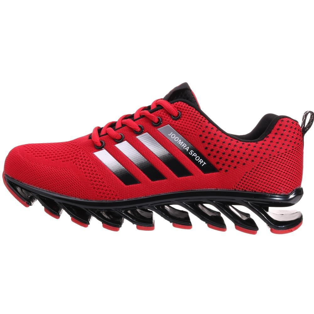 aa3d455c4df5 2019 Running Shoes Jogging Sneaker Blade Soles Comfortable Non Slip Size 39  46 Joomra Brand New Red Blue Free Run Sport Shoes For Men From Curtainy