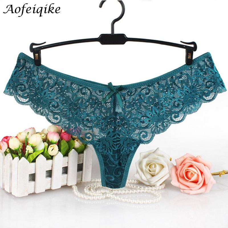 546716c9c96 2019 Europe Yardage Plus Size Underwear Women Sexy Lingerie Print Thongs  And G String Lace Panties T Back Seamless String  Q From Bishops