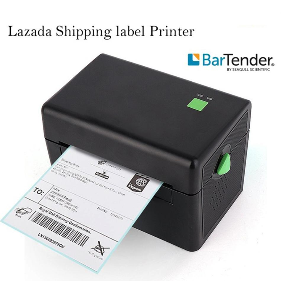 Thermal sticker label printer 108mm usb machine label paper qr code printer thermal bar code qr sticker usb brothers printers buy 3d printer from saltern