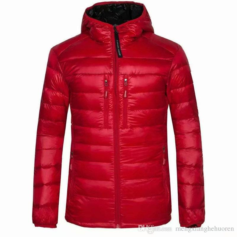 High Quality New Winter men's goose Down puffer jacket Casual Brand Hoodies Down Parkas Warm Ski Mens Coats 200